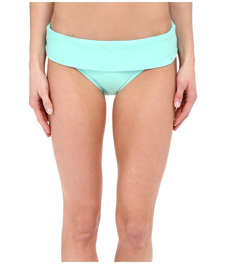 Next by Athena Good Karma Powerhouse Banded Retro Bikini Bottom (Aquamist) Women