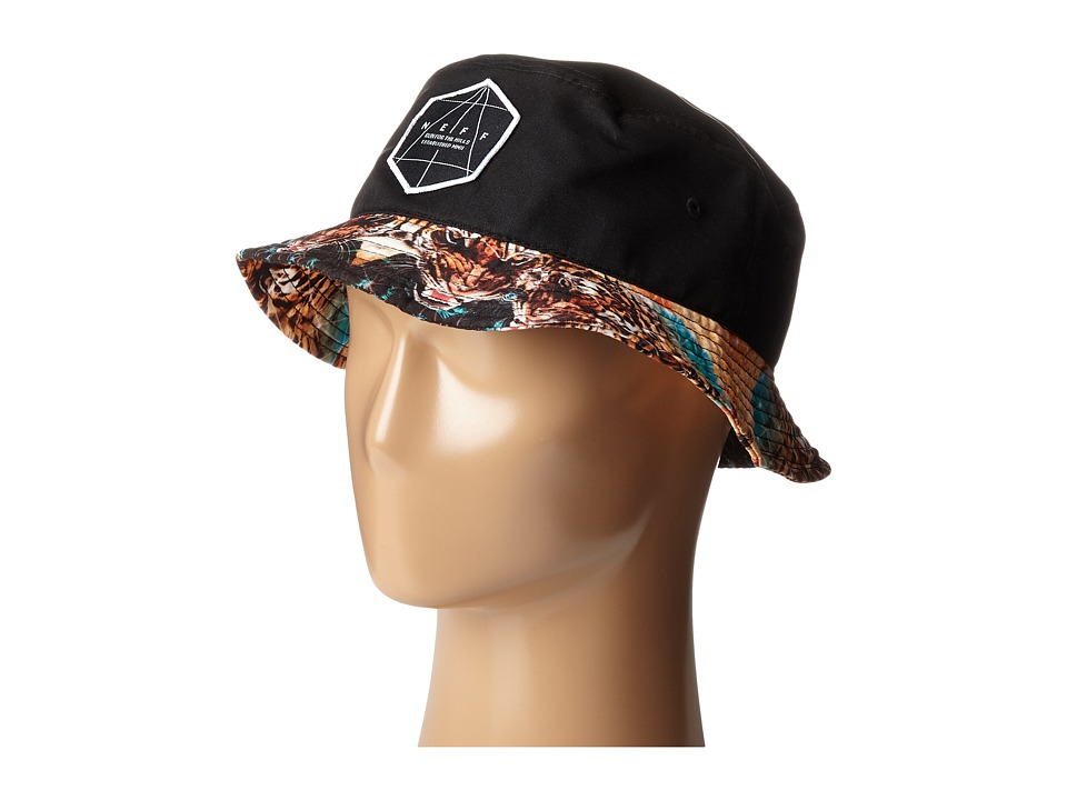 Neff - Battlekat Bucket (Black) Bucket Caps