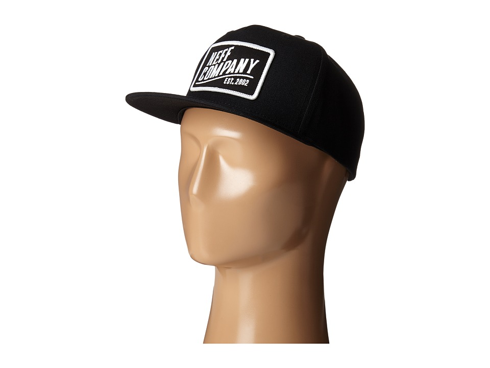 Neff - Station Cap (Black) Caps