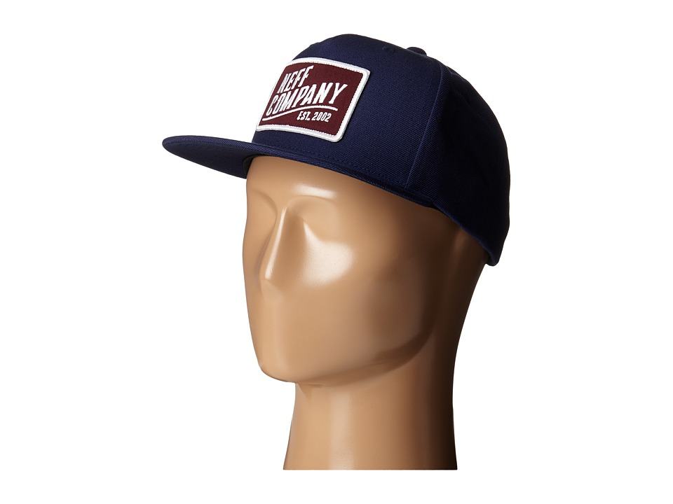 Neff - Station Cap (Navy) Caps