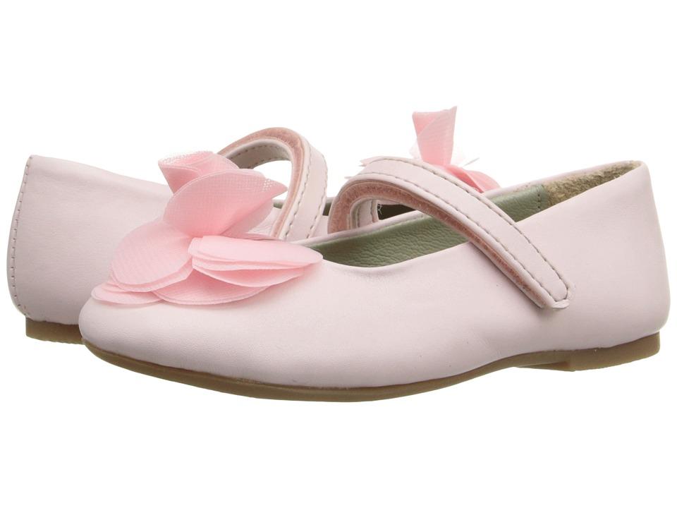 Pazitos - Silk Rose MJ PU (Toddler/Little Kid) (Pink) Girls Shoes