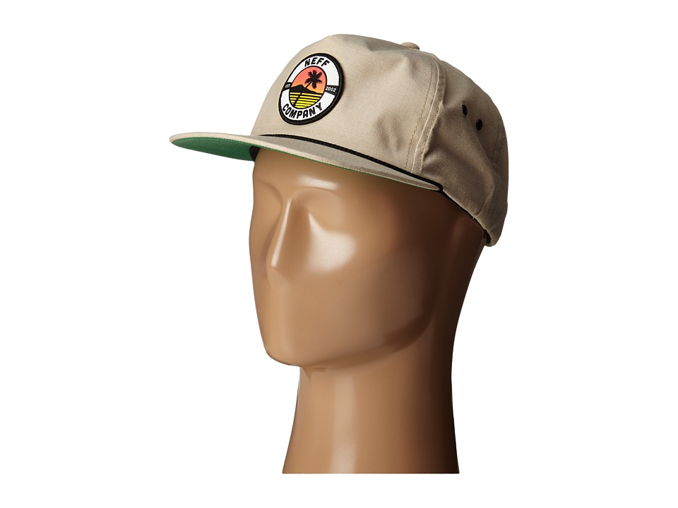 Neff - Palm Patch (Tan) Caps