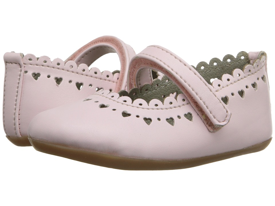 Pazitos - New Scallop MJ PU (Toddler) (Pink) Girls Shoes