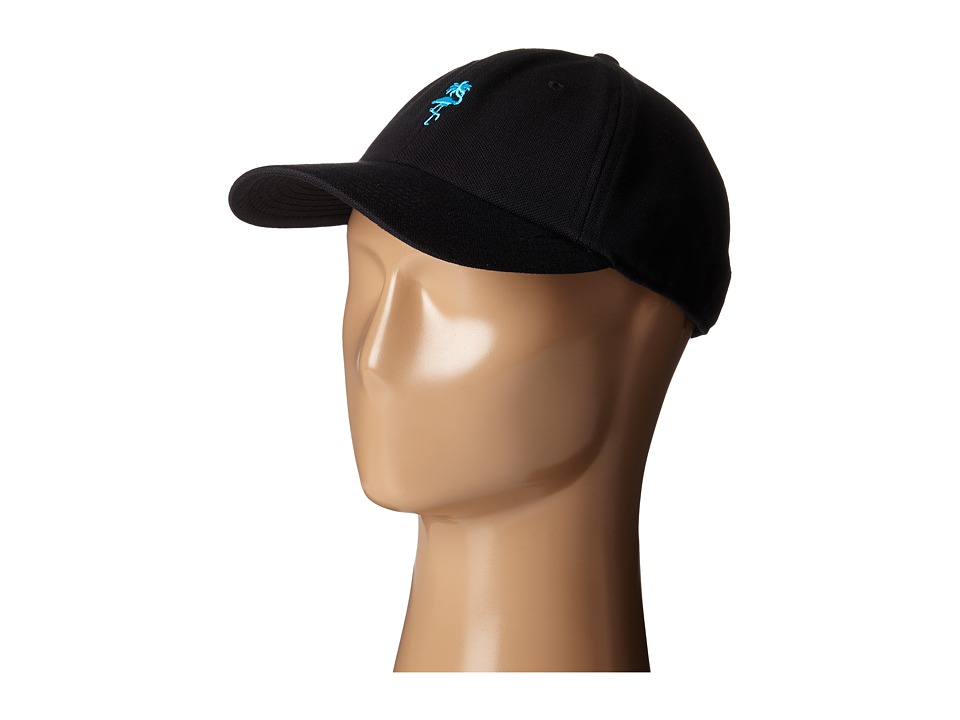 Neff - Palm Breeze 6 Panel Decon Polo (Black) Caps