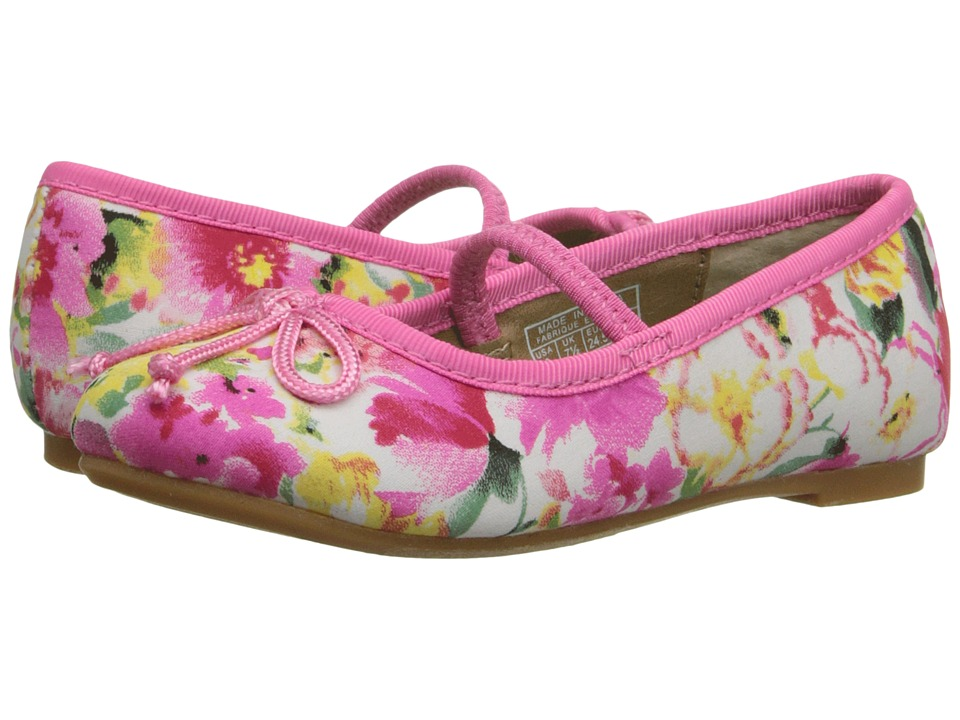 Polo Ralph Lauren Kids - Nellie (Toddler) (Pink Floral) Girls Shoes