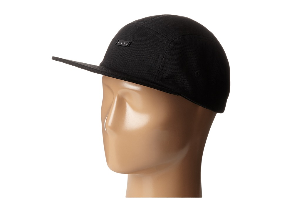 Neff - Lodge Camper (Black) Caps