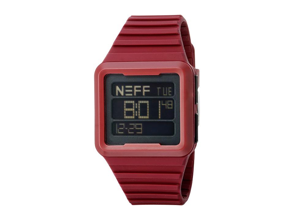 Neff - Odyssey (Maroon) Watches