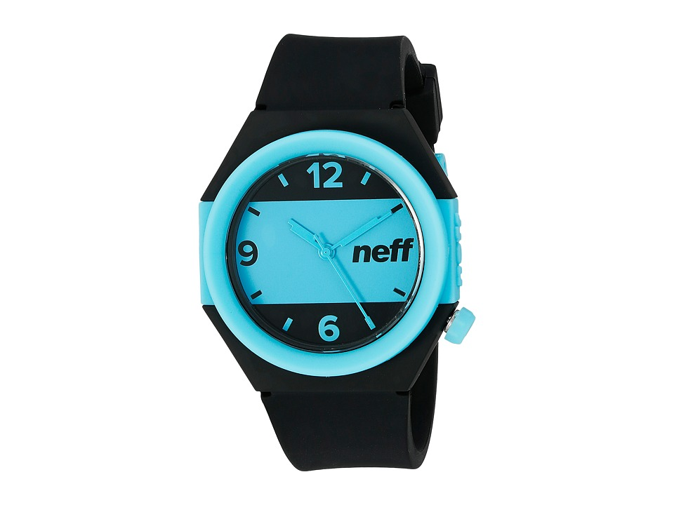 Neff - Stripe Watch (Black/Blue) Watches