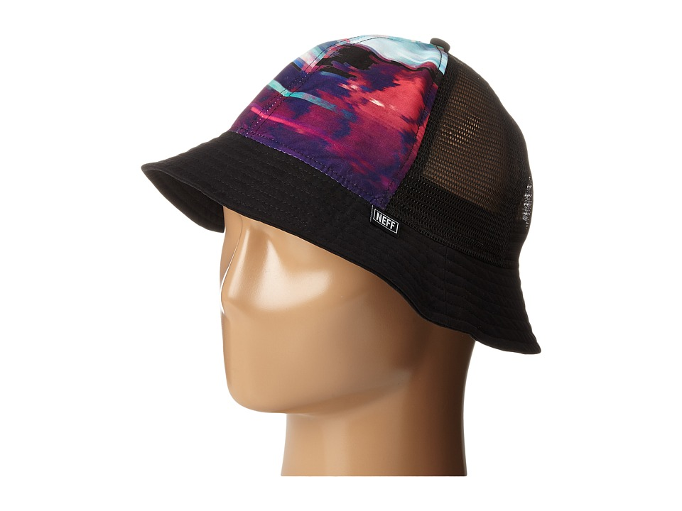 Neff - Last Sunset Bucket (Black) Bucket Caps