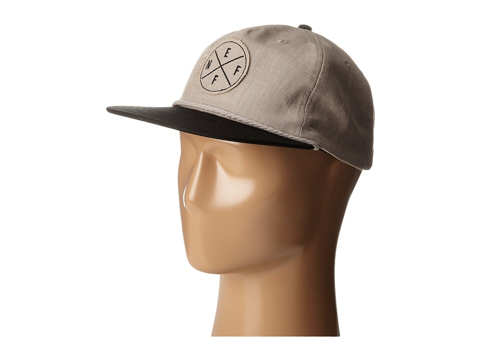 Neff - Kai Cap (Grey/Black) Caps