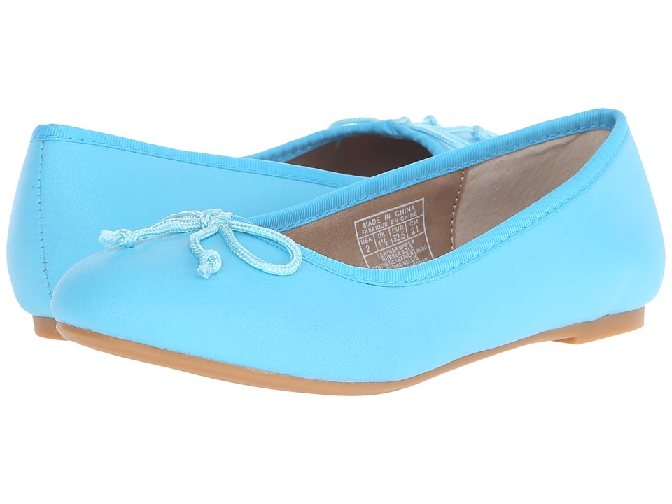 Polo Ralph Lauren Kids Nellie (Little Kid) (Turquoise Leather) Girls Shoes