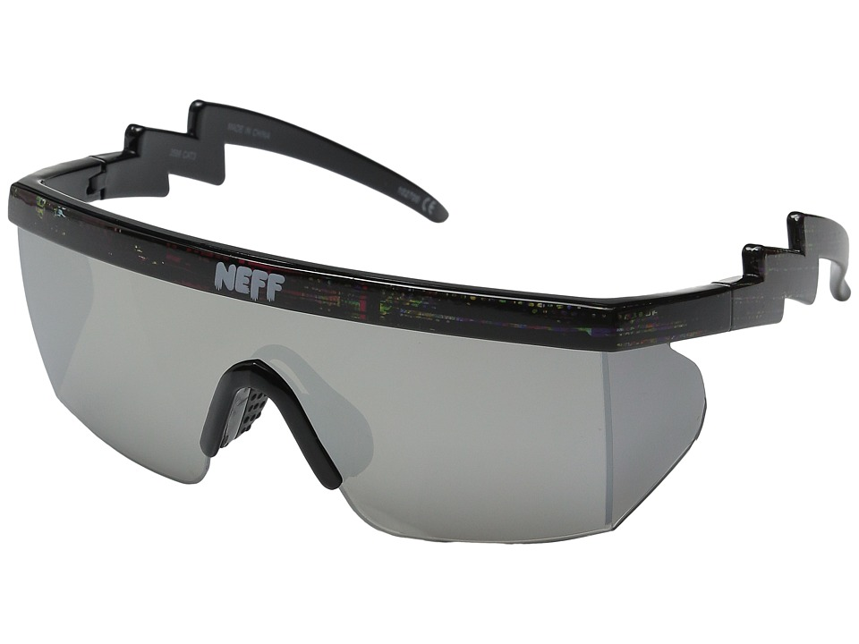 Neff - Brodie Shades (Black Static) Sport Sunglasses