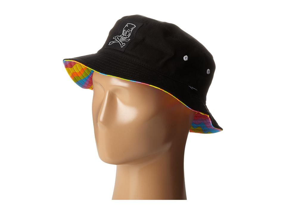 Neff - Simpsons Bucket (Black) Caps