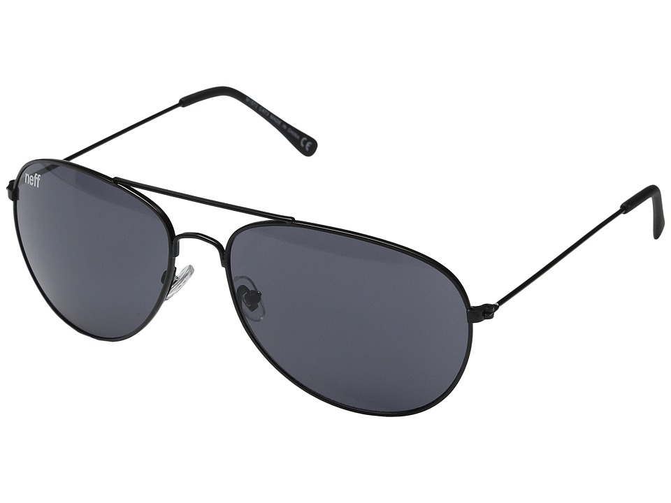 Neff - Bronz Shades (Black) Sport Sunglasses