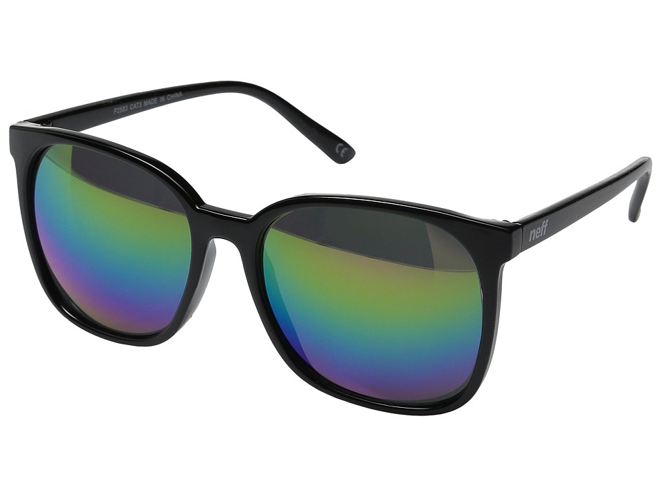 Neff - Jillian Shades (Black/Rainbow) Sport Sunglasses