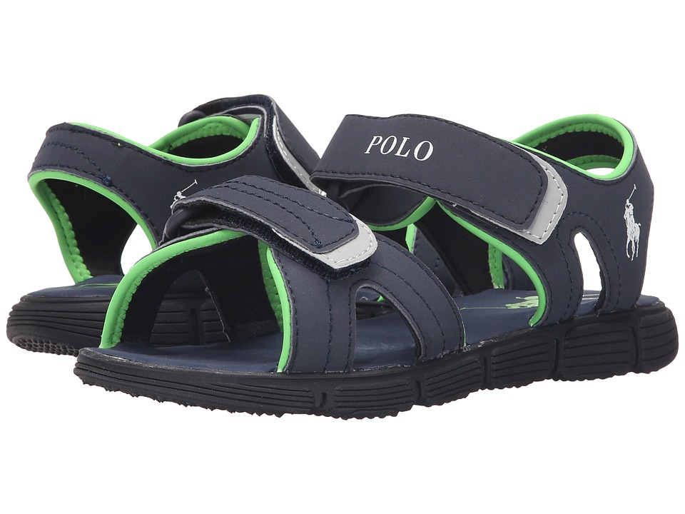 Polo Ralph Lauren Kids - Brody (Big Kid) (Navy Sportbuck) Boys Shoes