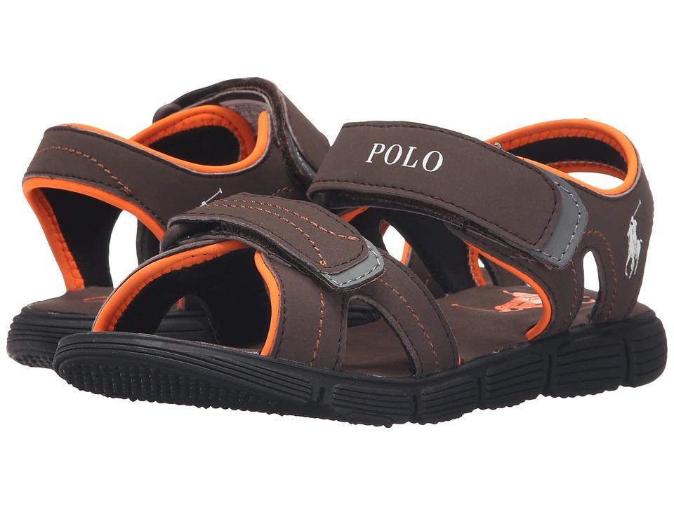 Polo Ralph Lauren Kids - Brody (Big Kid) (Chocolate Sportbuck) Boys Shoes