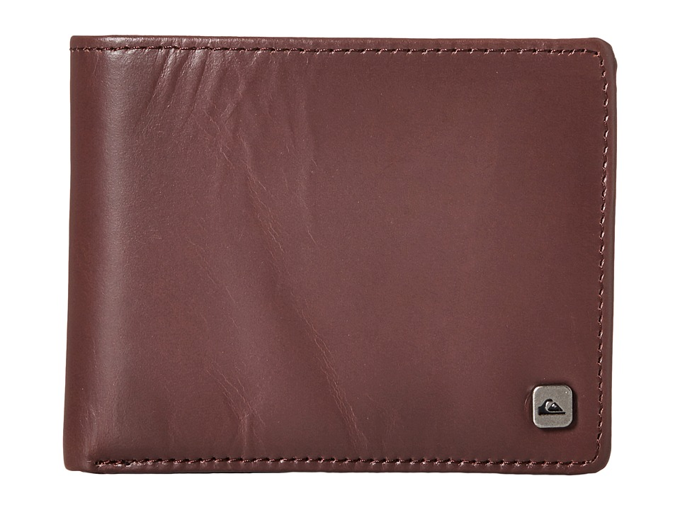 Quiksilver - Macking Wallet (Chocolate) Wallet Handbags