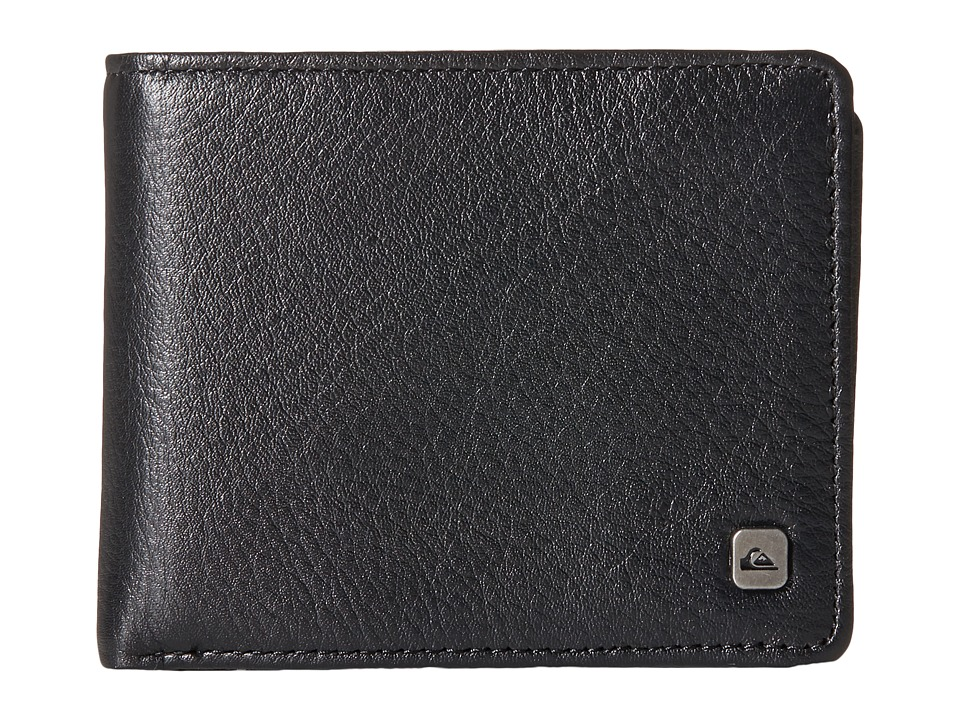 Quiksilver - Macking Wallet (Black) Wallet Handbags