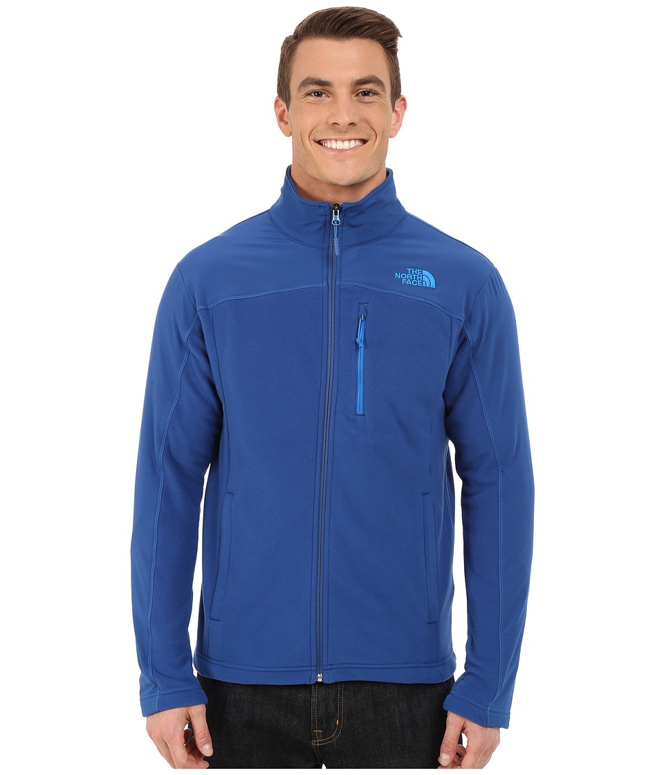 The North Face - Glacier Trail Jacket (Limoges Blue/Limoges Blue) Men's Coat