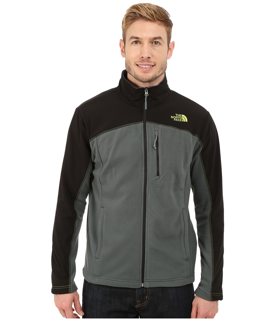 The North Face - Glacier Trail Jacket (Spruce Green/TNF Black) Men's Coat
