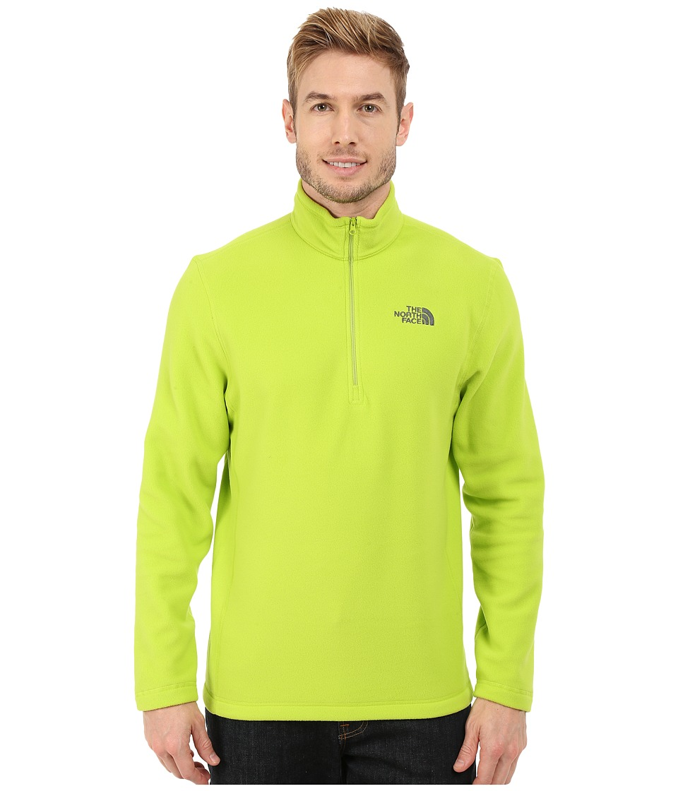 The North Face - TKA 100 Glacier 1/4 Zip (Macaw Green) Men's Sweatshirt