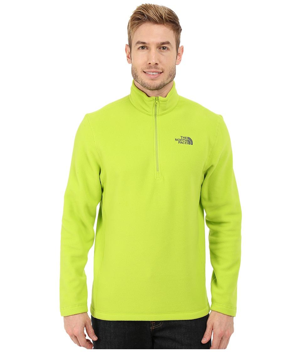 The North Face - TKA 100 Glacier 1/4 Zip (Macaw Green) Men's Sweatshirt