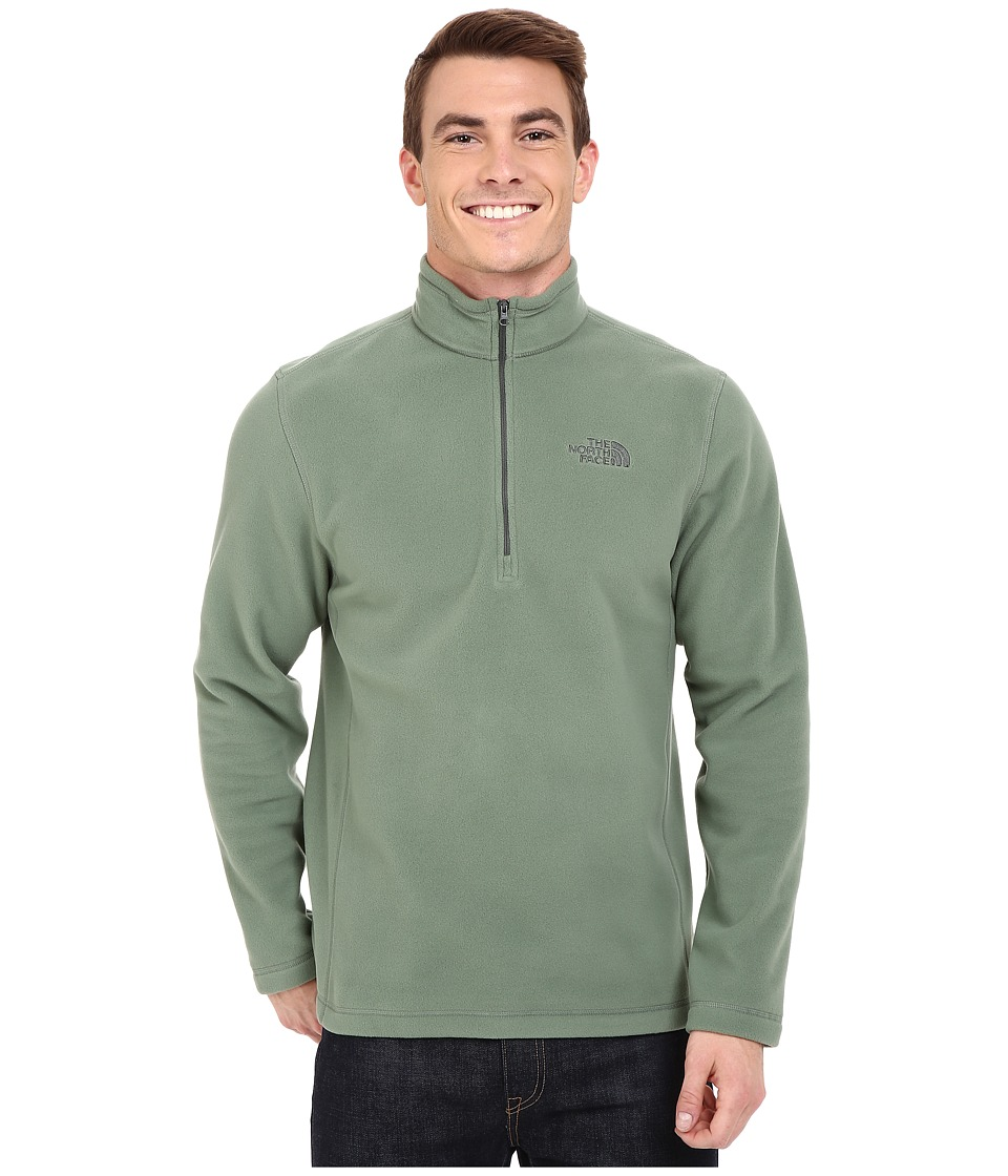 The North Face - TKA 100 Glacier 1/4 Zip (Laurel Wreath Green) Men's Sweatshirt