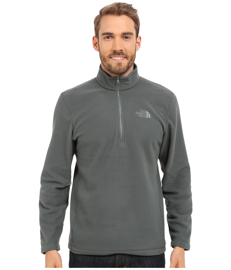 The North Face - TKA 100 Glacier 1/4 Zip (Spruce Green) Men's Sweatshirt