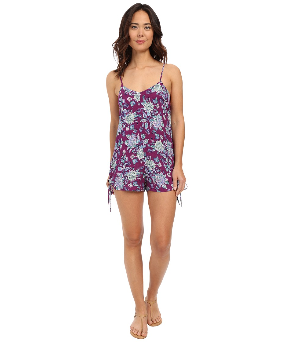 Billabong - Keep Dreamin Romper (Deep Plum) Women's Jumpsuit & Rompers One Piece