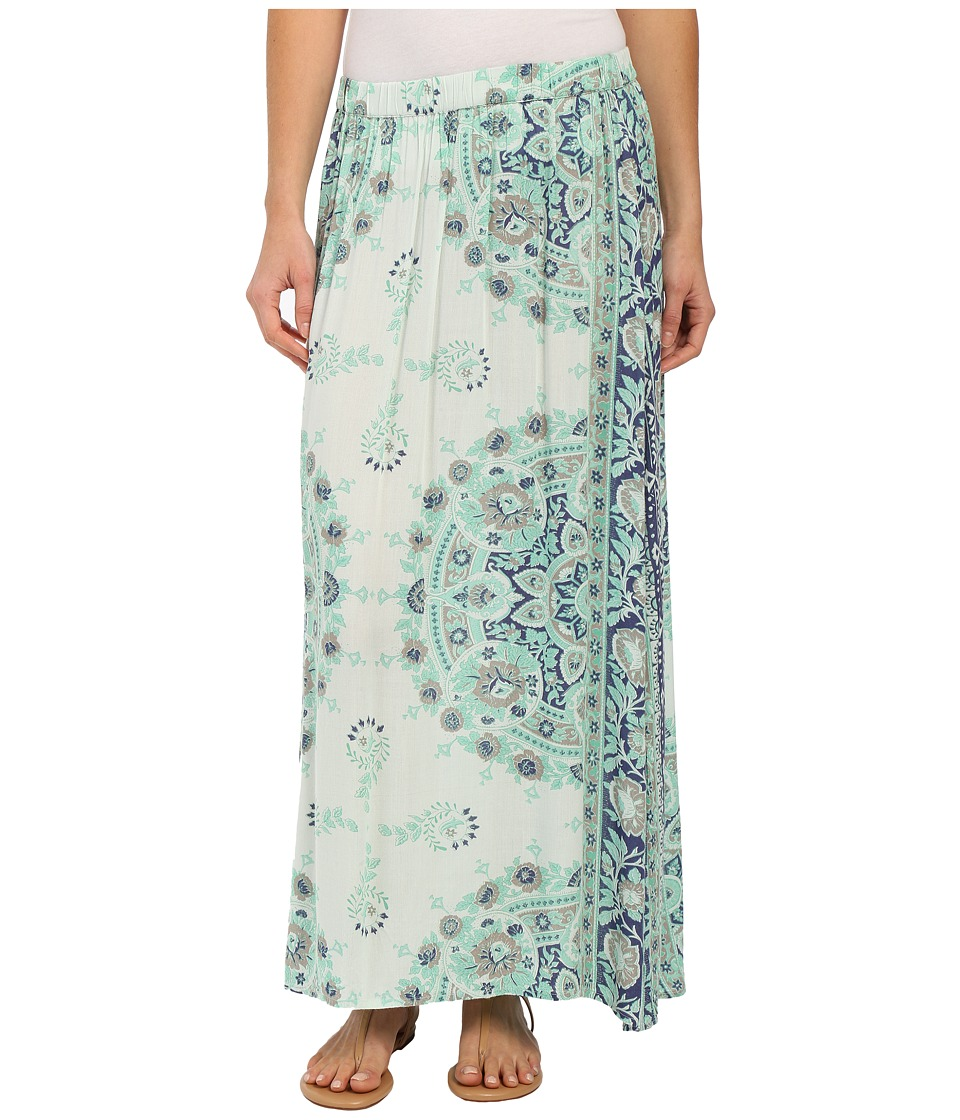 Billabong - Silver Bloom Skirt (Washed Jade) Women's Skirt