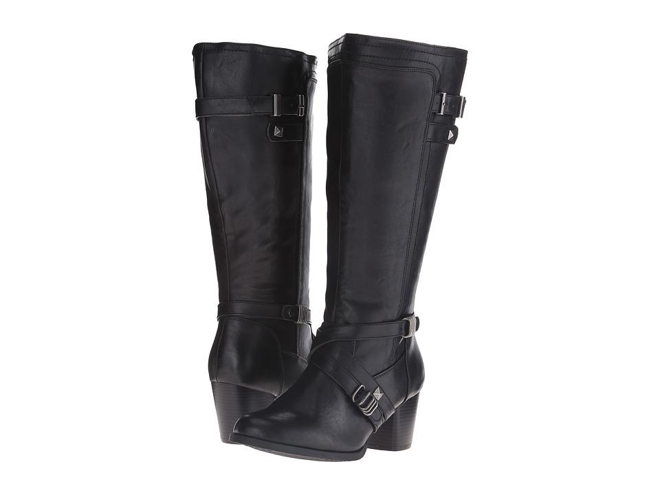 Rialto - Claudette Wide Shaft (Black) Women's Shoes