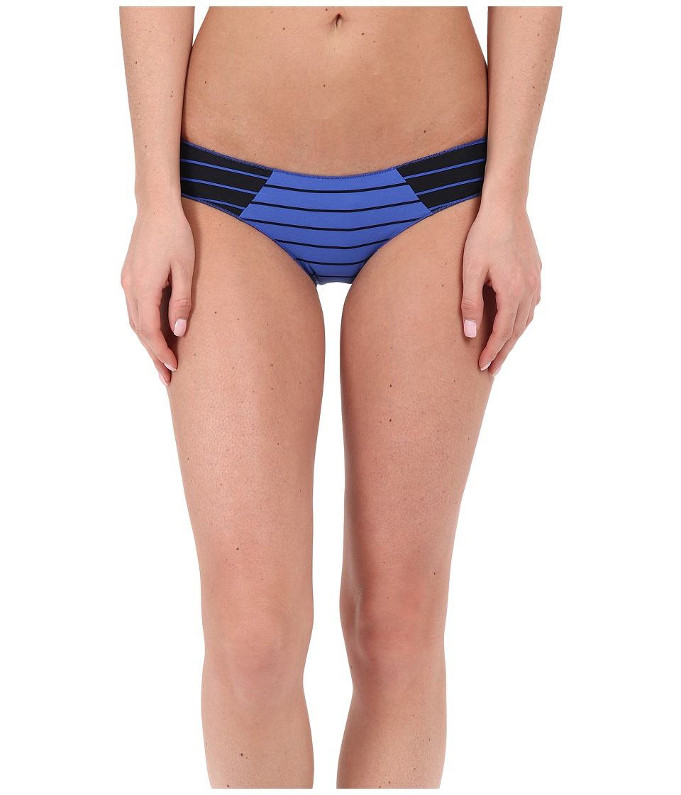 Rip Curl - Line 'Em Up Hipster Bottoms (Dazzling Blue) Women's Swimwear