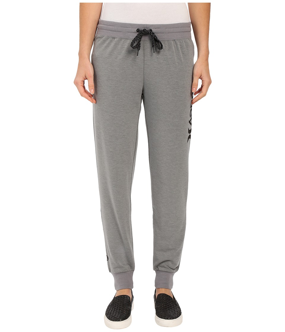 Hurley - Dri-Fit Fleece Joggers (Heather Grey) Women
