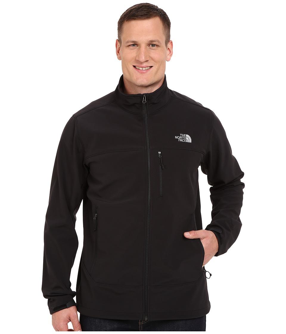 The North Face - Apex Bionic Jacket - Tall (TNF Black/TNF Black) Men's Coat