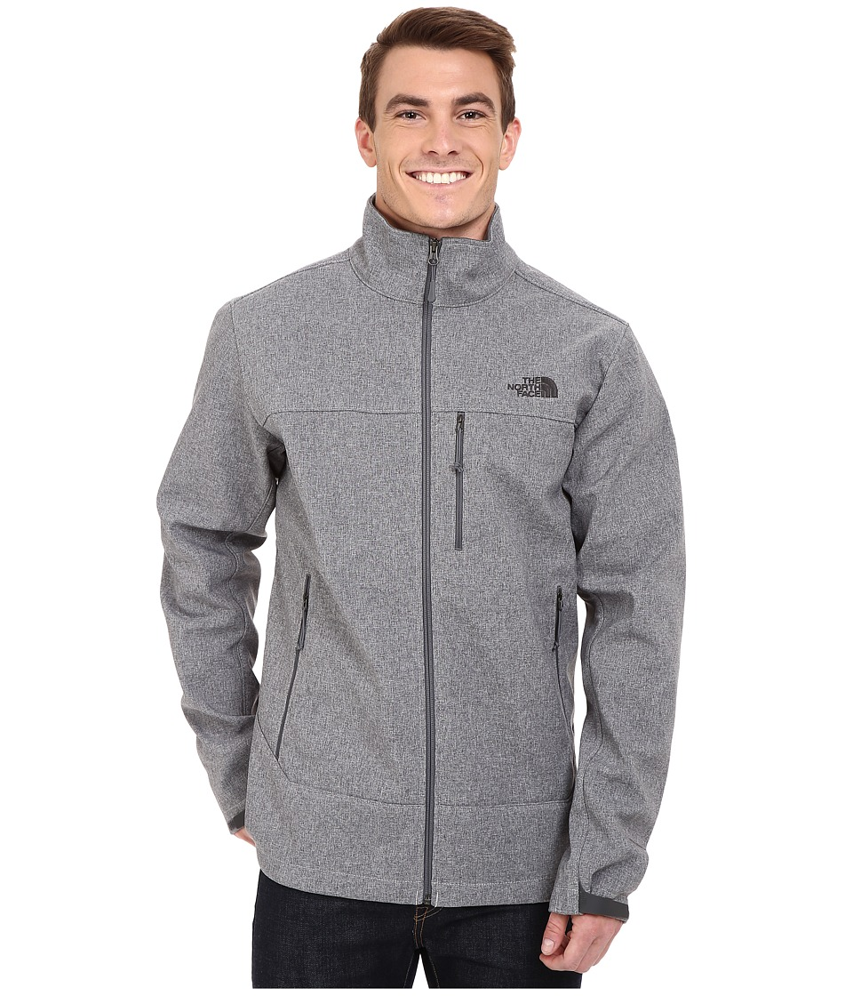 The North Face - Apex Bionic Jacket - Tall (High Rise Grey Heather/High Rise Heather) Men's Coat