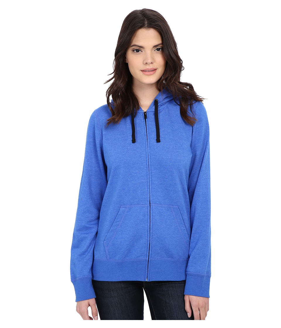 Hurley - Icon Fleece Zip Hoodie (Heather Hyper Cobalt) Women's Sweatshirt