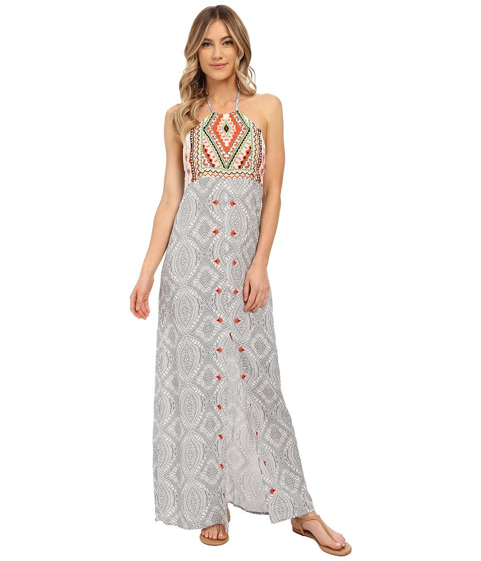 Rip Curl - Mayan Sun Maxi Dress (Vanilla) Women's Dress