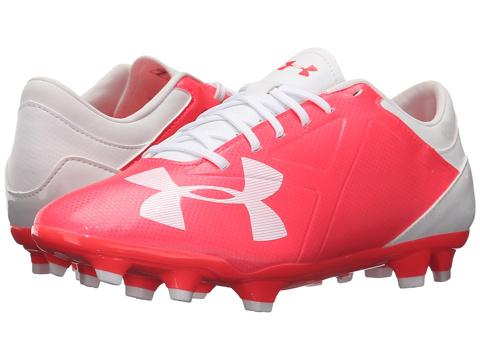 Under Armour - UA Spotlight DL FG (Neo Pulse/White) Women's Cleated Shoes