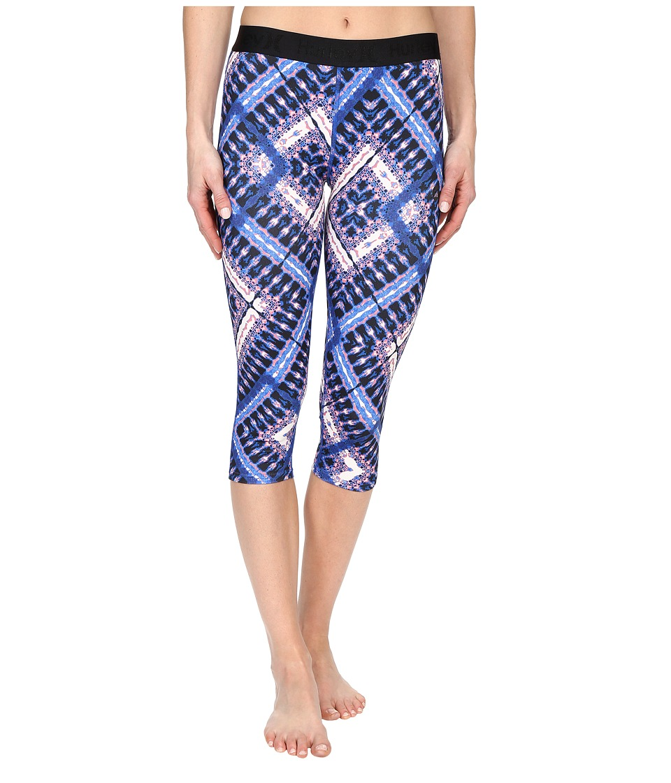 Hurley - Dri-Fit Crop Leggings (Hyper Cobalt) Women's Workout