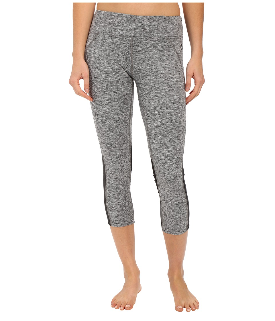 Hurley - Dri-Fit Paneled Leggings (Heather Grey) Women's Workout