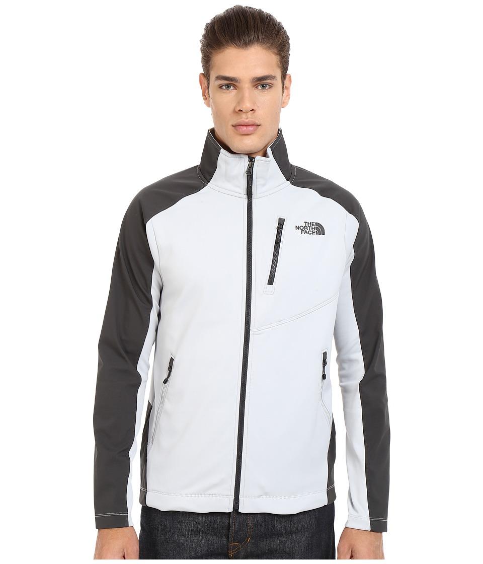 The North Face - Tenacious Hybrid Full Zip (High Rise Grey/Asphalt Grey) Men's Coat