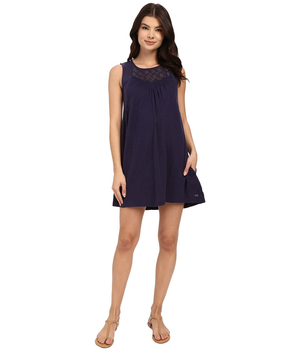 Roxy - Coast Is Clear Dress (Eclipse) Women's Dress