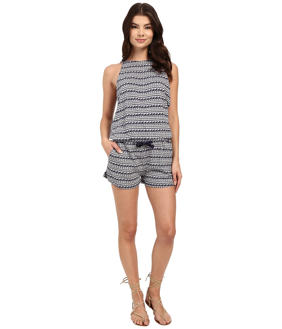 Roxy - Tides Romper (Eclipse) Women's Jumpsuit & Rompers One Piece