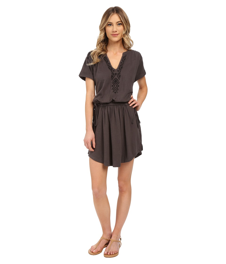 Roxy - Lucky Stars T-Shirt Dress (Dark Midnight) Women's Dress
