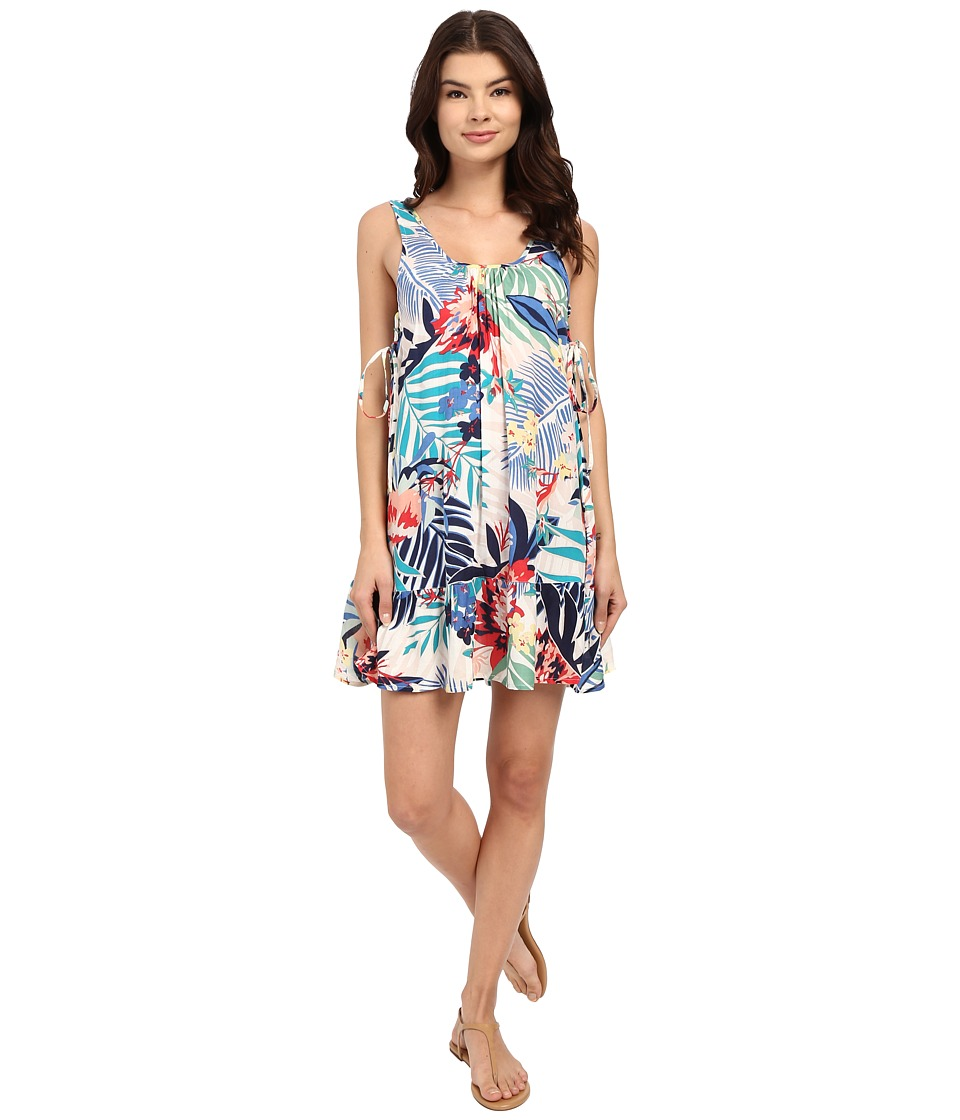 Roxy - Shadow Play Tank Dress (Canary Islands Floral/Sand Piper) Women's Dress