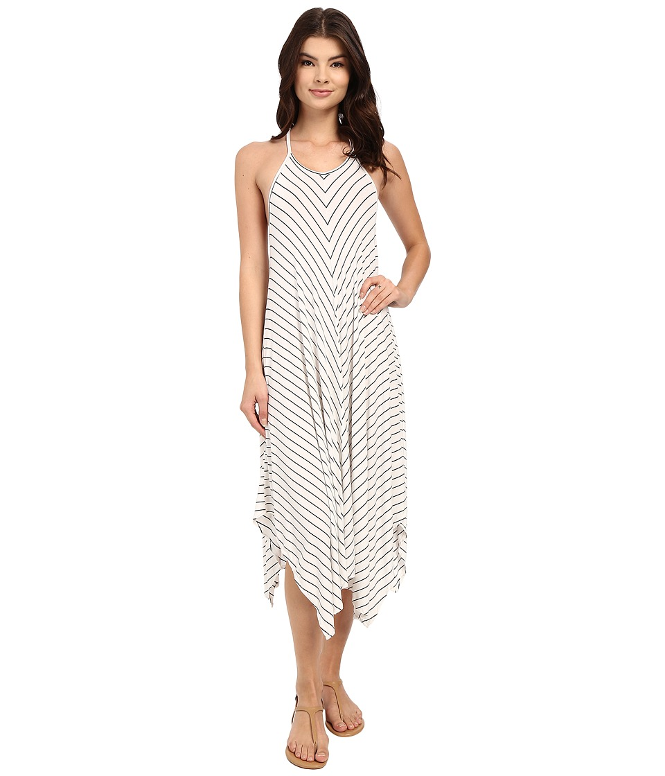 Rip Curl - Line 'Em Up Maxi Dress (White) Women's Dress