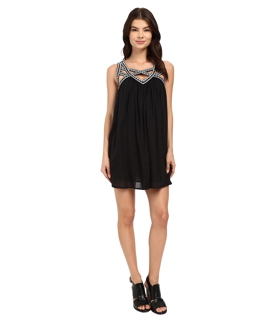 Rip Curl - Neverland Dress (Black) Women's Dress