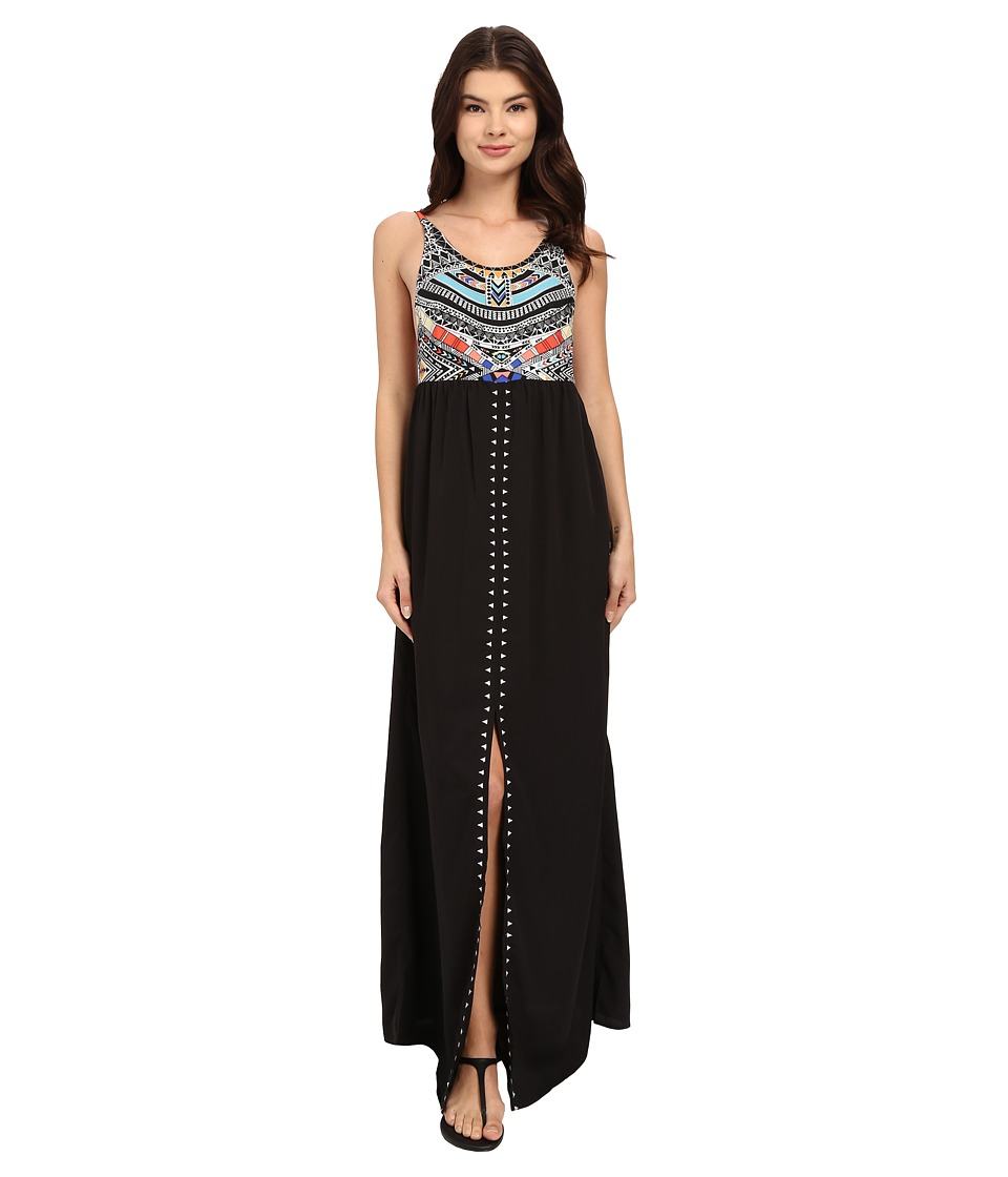 Rip Curl Tribal Myth Maxi Dress (Black) Women