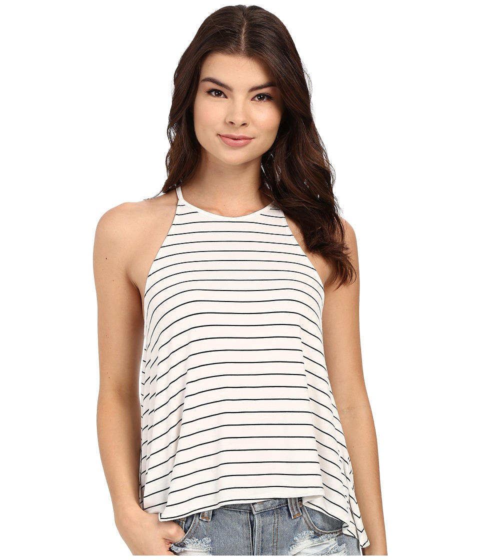 Rip Curl - Line 'Em Up Tank Top (White) Women's Sleeveless